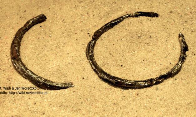 Meteorytowa biżuteria w historii