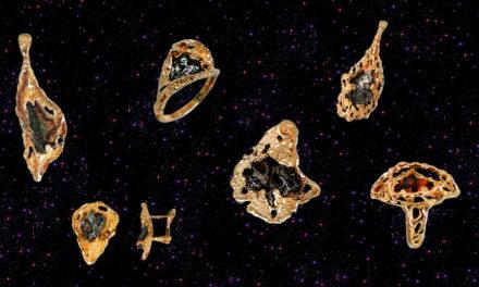 Meteoryty w złocie