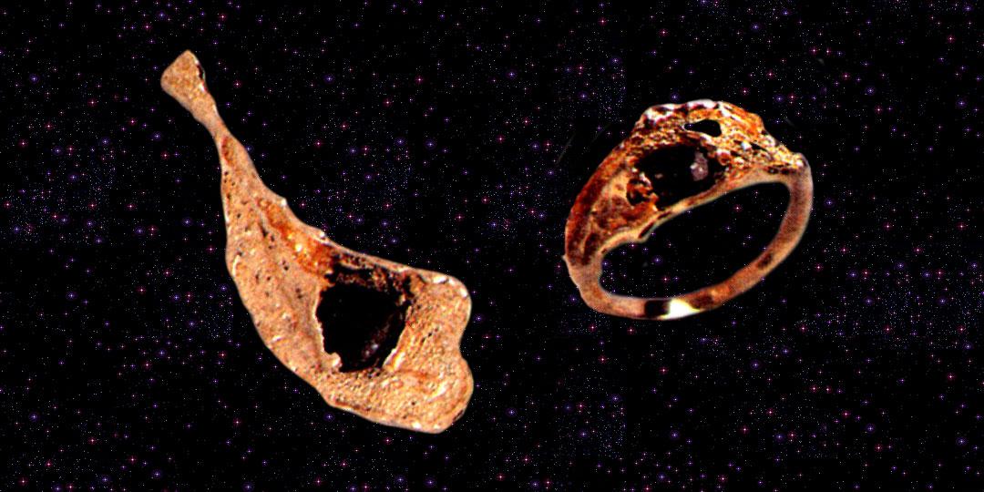 Kosmiczne pierścionki
