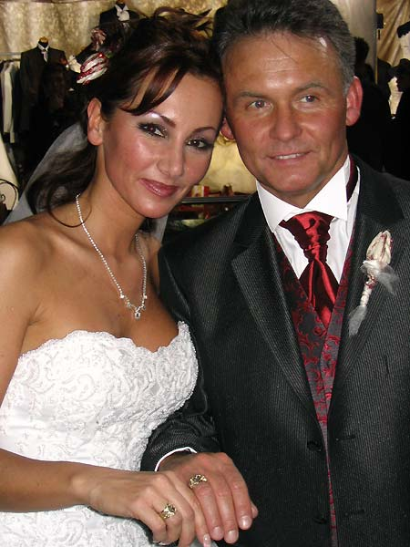 Ślub Jolanty Mrotek i Jarosława Grudzińskiego