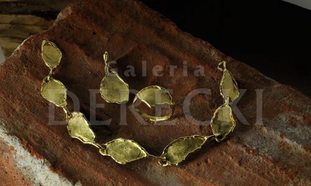 Biżuteria z odciskami linii papilarnych