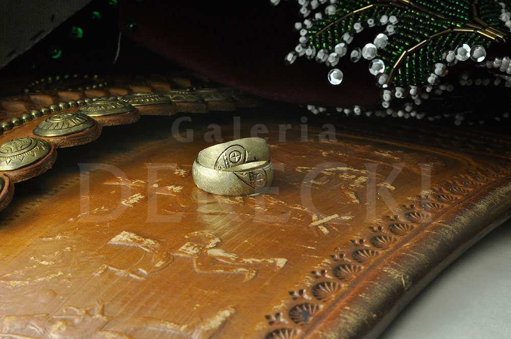 Góralskie, tradycyjne obrączki