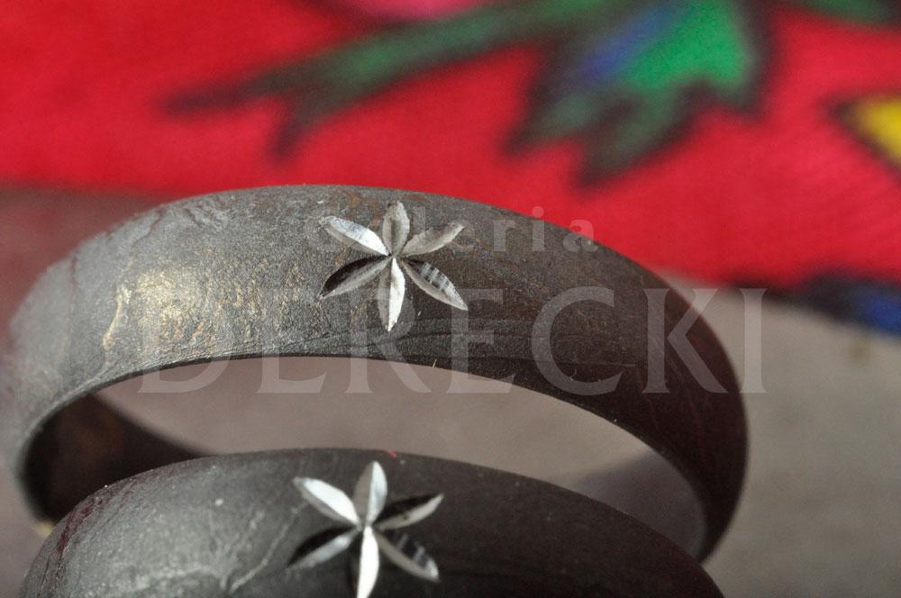 Obrączki góralskie z meteorytu żelaznego