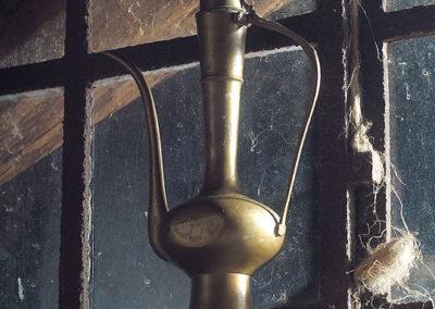 Lampa z dżinem, strażnikiem skarbnicy pomysłów. ;)