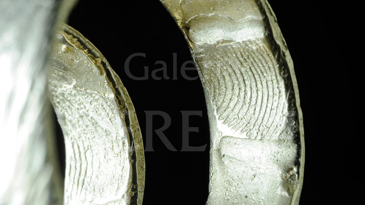 Obrączki - Złote linie papilarne