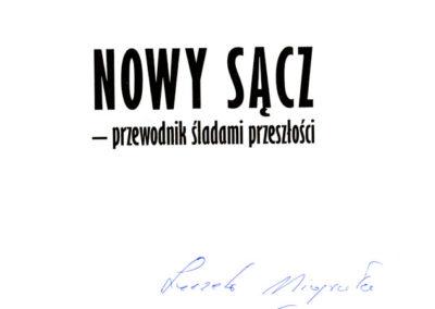 Nowy Sącz - przewodnik śladami przeszłości.