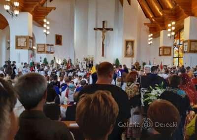 Uroczysta msza stanowiła preludium do góralskiego pochodu ulicami Zakopanego.