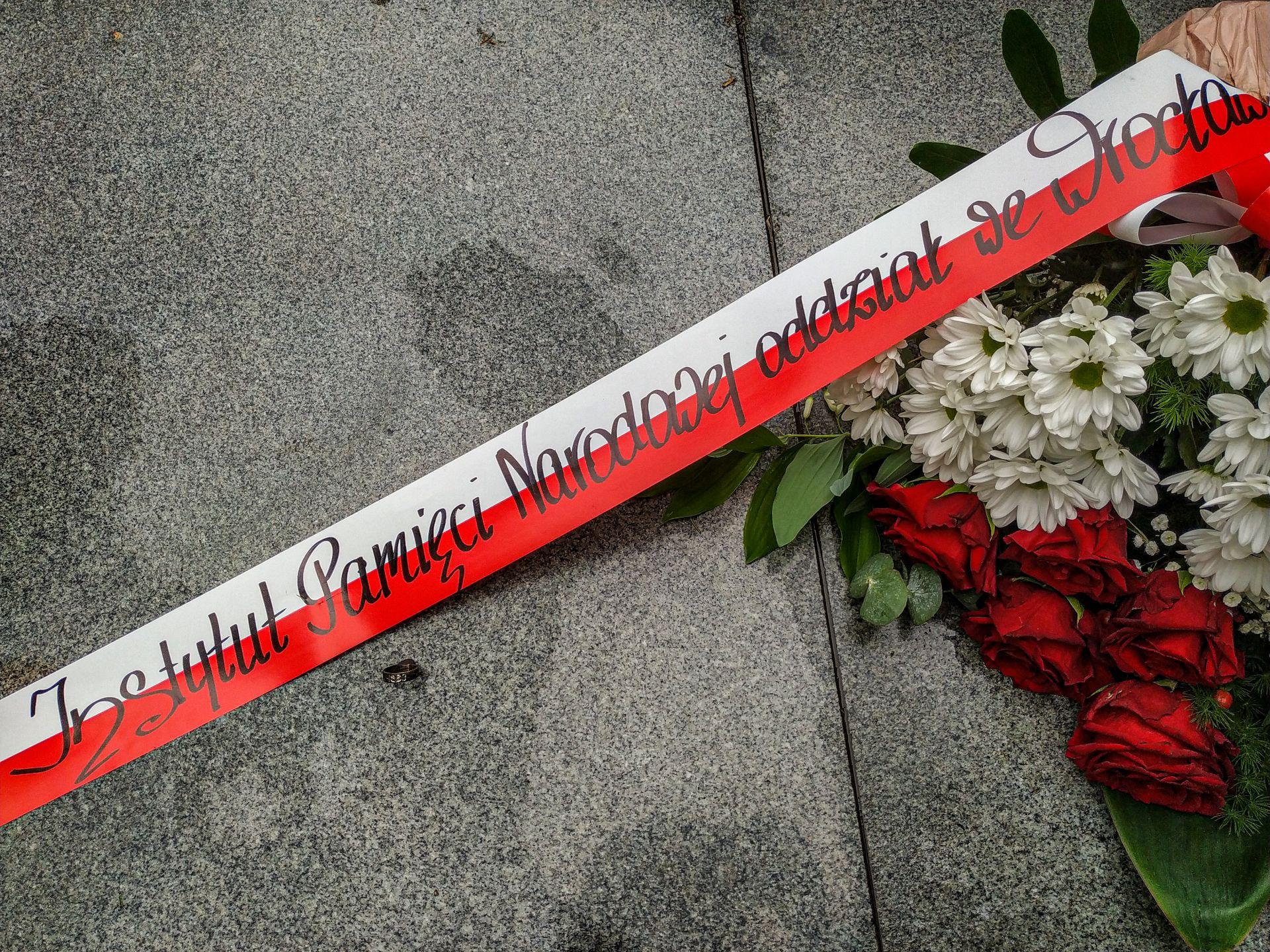 Pomnik Pileckiego we Wrocławiu