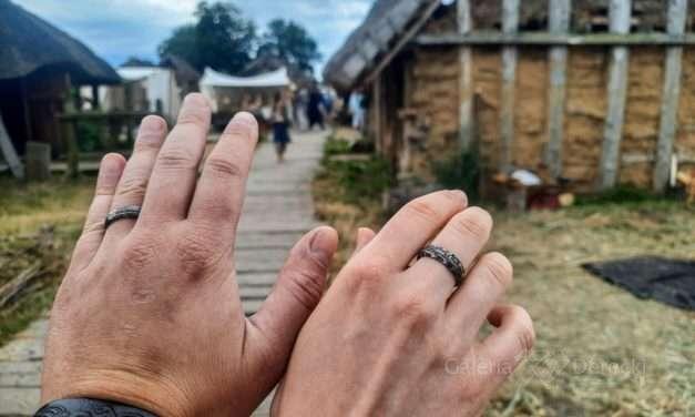 Obrączki z kuźni Tyvodar odwiedziły Wolin